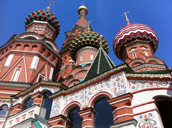 St Basil's, Red Square, Moscow.